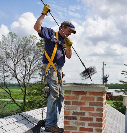 What Is The Easiest Way To Clean A Chimney
