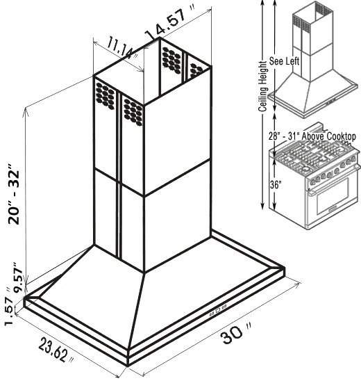 What Is The Standard Size Of A Chimney